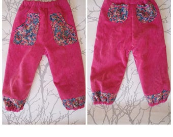 Made to order: babies pants with our without wind proof lining