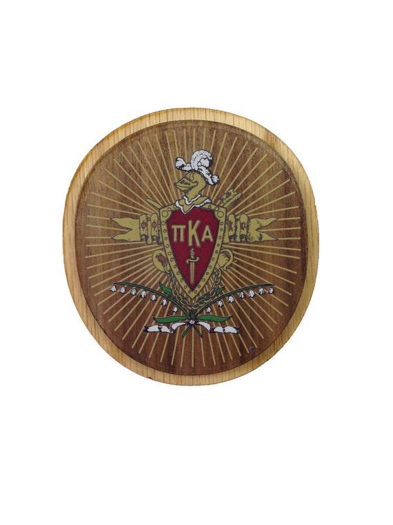 Pi Kappa Alpha Pike Fraternity 35 Double Raised Wood