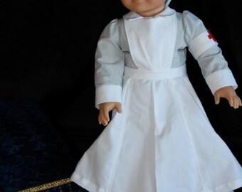 World War I Nurse Uniform for 18 inch Doll