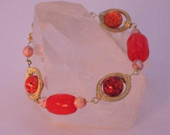 The Sutton Hoo Bracelet in Orange