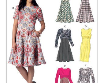 Dress sewing pattern Vogue Very easy V9202