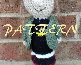 Despicable Me Margo inspired CROCHET PATTERN