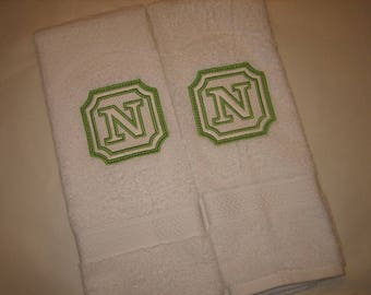Cotton Hand Towel Gifts, 2 durable hand towels, 2 Absorbent towels, Gift Set of 2 ultra soft hand towels, absorbent hand towels
