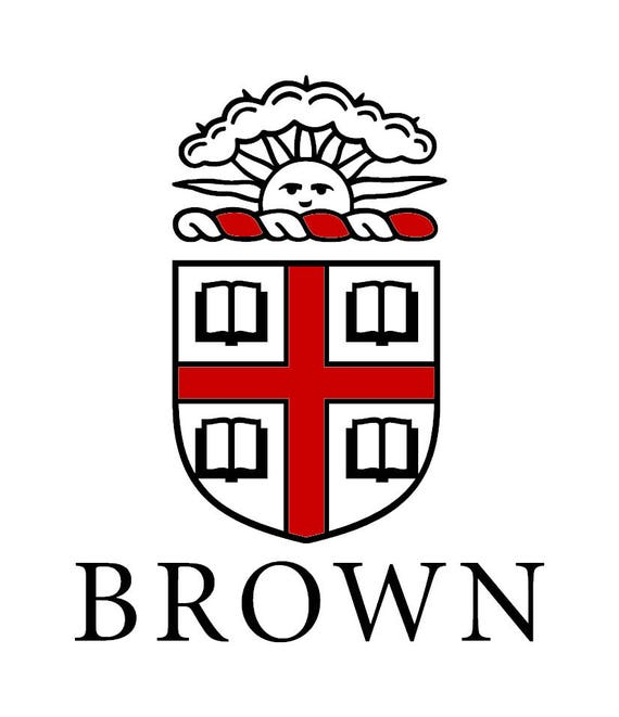 Brown university vinyl decal