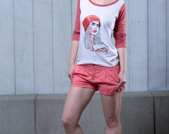 Ladies Baseball_Shirt Freya