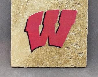 University of Wisconsin-Madison Coaster (4-Pack)