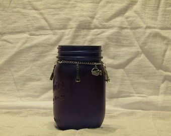 Purple Wine Jar