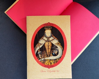 Colourful notebooks with English Queen design