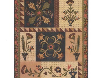 QUILTING FUN (Quilt Pattern): - Hawthorn Ridge - 7 Month BOM - Designed by Jan Patek