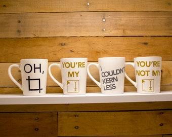 Punny Artist Mugs