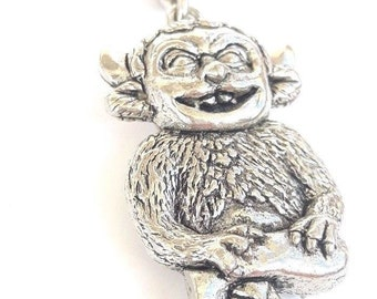 Lincoln Imp Handcrafted from Solid Pewter In the UK Key Ring