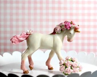 Unicorn Birthday Unicorn Party Unicorn Centerpiece Unicorn Cake Topper Birthday Party Decoration Girl Animal Cake Topper