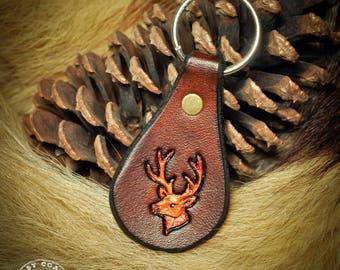 Keychain Fob - Deer