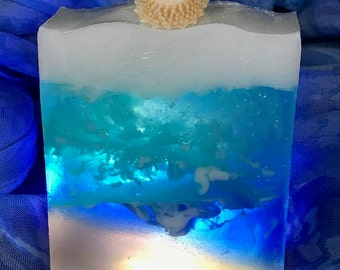 Ocean View Patchouli Oil Goats Milk And Glycerin Soap Bar
