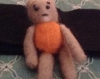 """Handmade Mohair Teddy Bear 3.5"""""""