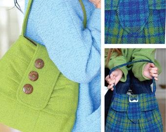 Victory Bag Digital Sewing ePattern PDF - vintage style purse in two versions