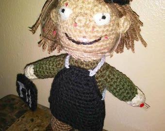 Dexter Morgan Inspired Crochet Doll