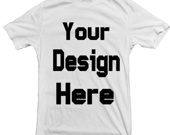Custom T-shirt Printing Personalized your T shirt with a logo or photo