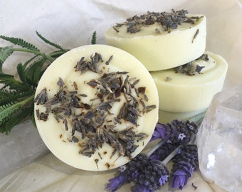 Ginger and Lavender Shea Butter Hemp Soap