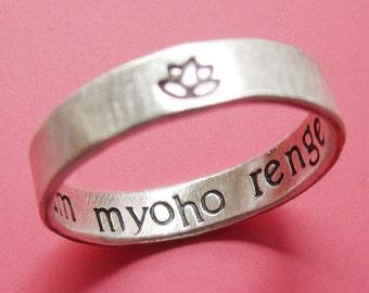 Nam Myoho Renge Kyo Ring