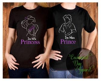Disney couple shirts