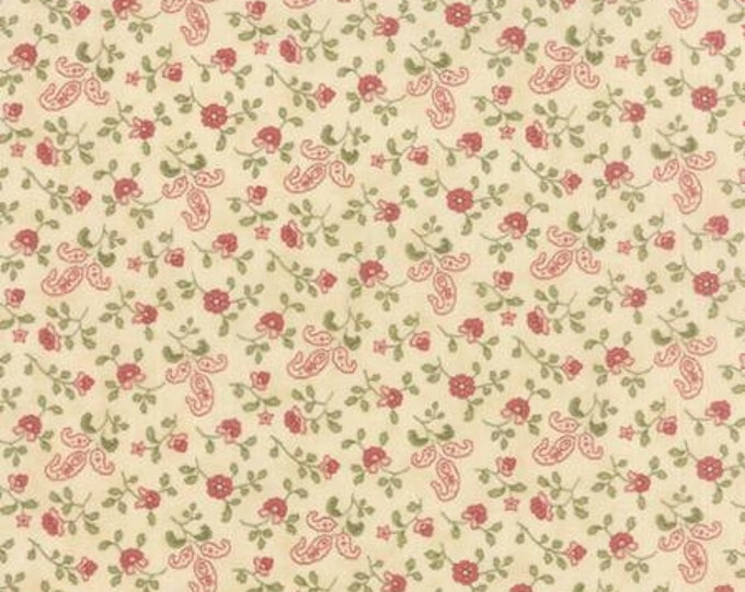 Country Orchard by Blackbird Designs - Wind Blown Natural Cream - 1/2yd