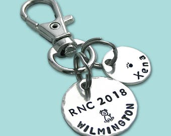 Personalized RNC 2018 AKC National Championship Commemorative Charm
