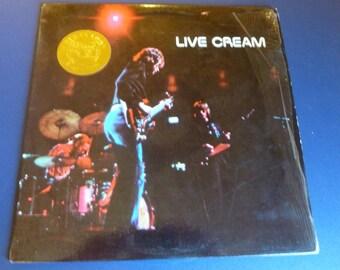 Cream Live Vinyl Record RS-1-3014 RSO Records Collector Edition