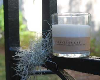 Spanish Moss Candle | 9 oz Soy Candle | Charleston SC Inspired Candles