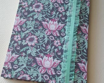 Handmade lined journal for bujo, diary, or writing, mint