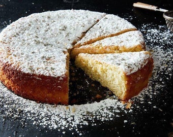 FREE**Lemon Lavender Cake Recipe by Food52