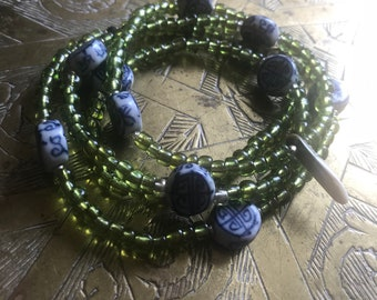Longevity wrap bracelet / necklace