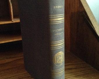 Hauts de Hurlevent de Emily Bronte Vintage 1936 livre, livre de collection, livre amant cadeau, livre classique, couverture rigide