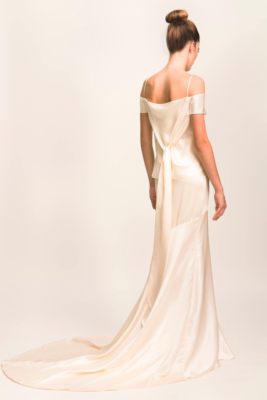 LAURA zweiteilige Hochzeitskleid