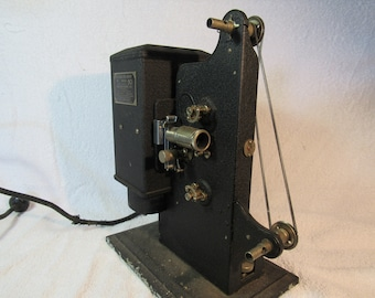 Vintage Kodascope Eight Model 50 Movie Projector good for decorations, parts or restoration
