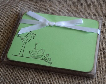 Flat Note Cards - Set of 10