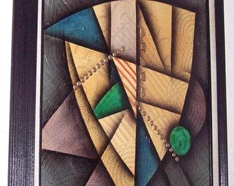 RARE K. Winston Original Abstract Art Painting