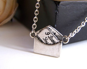 the love letter necklace.
