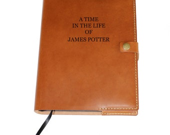 Leather journal, lined leather journal, personalized leather journal , leather journal refillable, leather notebook, leather travel journal