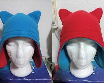 Reversible Kitty Ear Hat