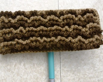 Brown Swiffer Cloth - Brown Floor Dusting Cloth - Beige Swiffer Cloth - Beige Floor Dusting Cloth - Reusable Swiffer Duster