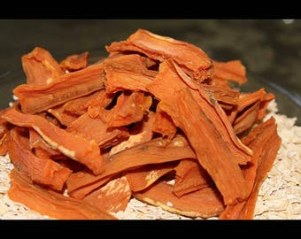Sweet Potato Sticks Treat. All natural, homemade, healthy, delicious and always made in the USA!