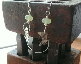New Jade and Upcycled Watch Parts