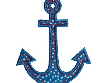"""Anchors Aweigh Appliques Machine Embroidery Designs Applique Pattern in 4 sizes 4"""", 5"""", 6"""" and 7"""""""