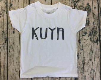 Kuya or Ate Onesie/Toddler Shirt