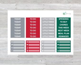 JOY Headers Planner Stickers