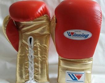 new customized winning boxing gloves 16/oz