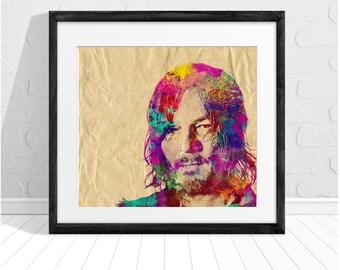 Daryl The Walking Dead Print Fan Art