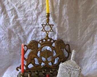 Hanukkah Dreidel Pattern