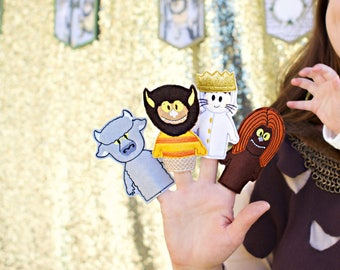 Where the Wild Things Are | Finger Puppets | Pretend Play | Kids Toys | Wild Max | Felt Toys | Toy | Monsters